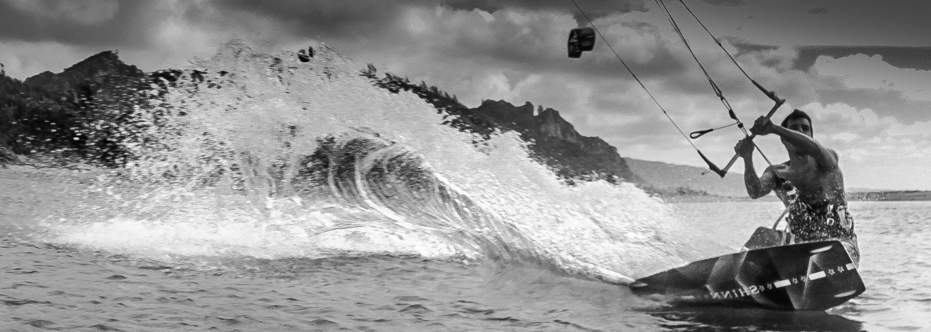Nick Hall kiteboarding BVI